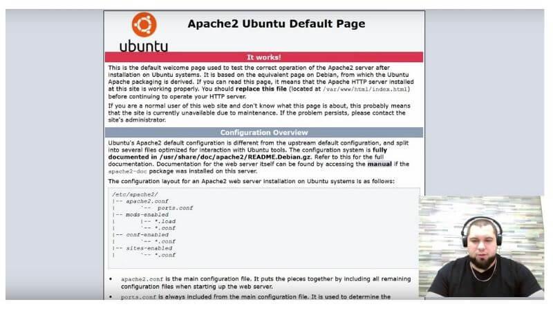 Apache сервер нужен для того, чтобы мы могли запускать простые сайты на своем сервере.