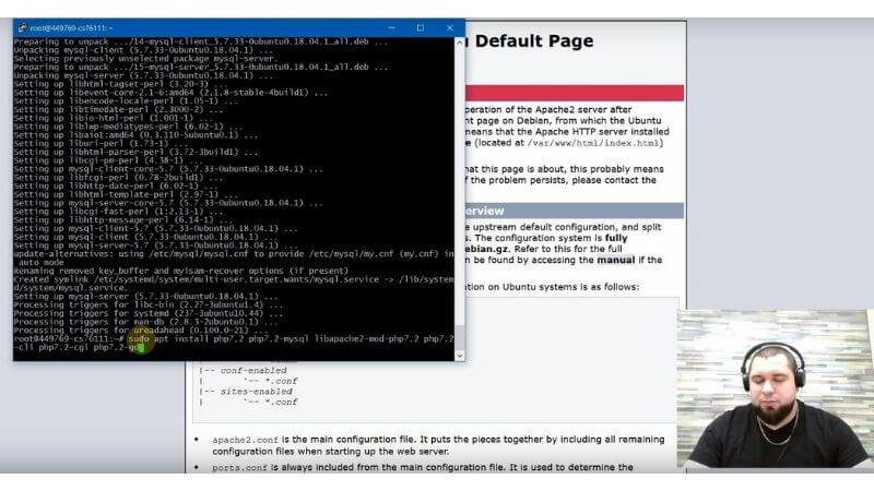 Без PHP 7.2  сервера, у нас не будет работать ни одна CMS. Ставить обязательно!