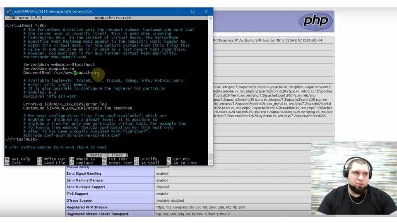 Чтобы сайт открывался по домену. Всего на всего надо вписать 2 строки в Apache. Очень просто!