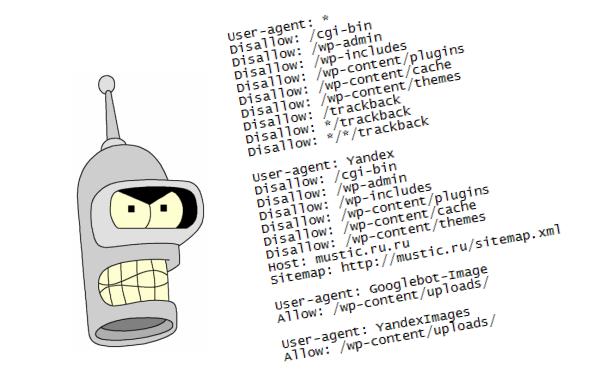 Настройка индексации robots.txt