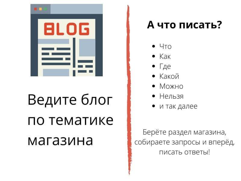 Как сделать правильный блог для интернет-магазина